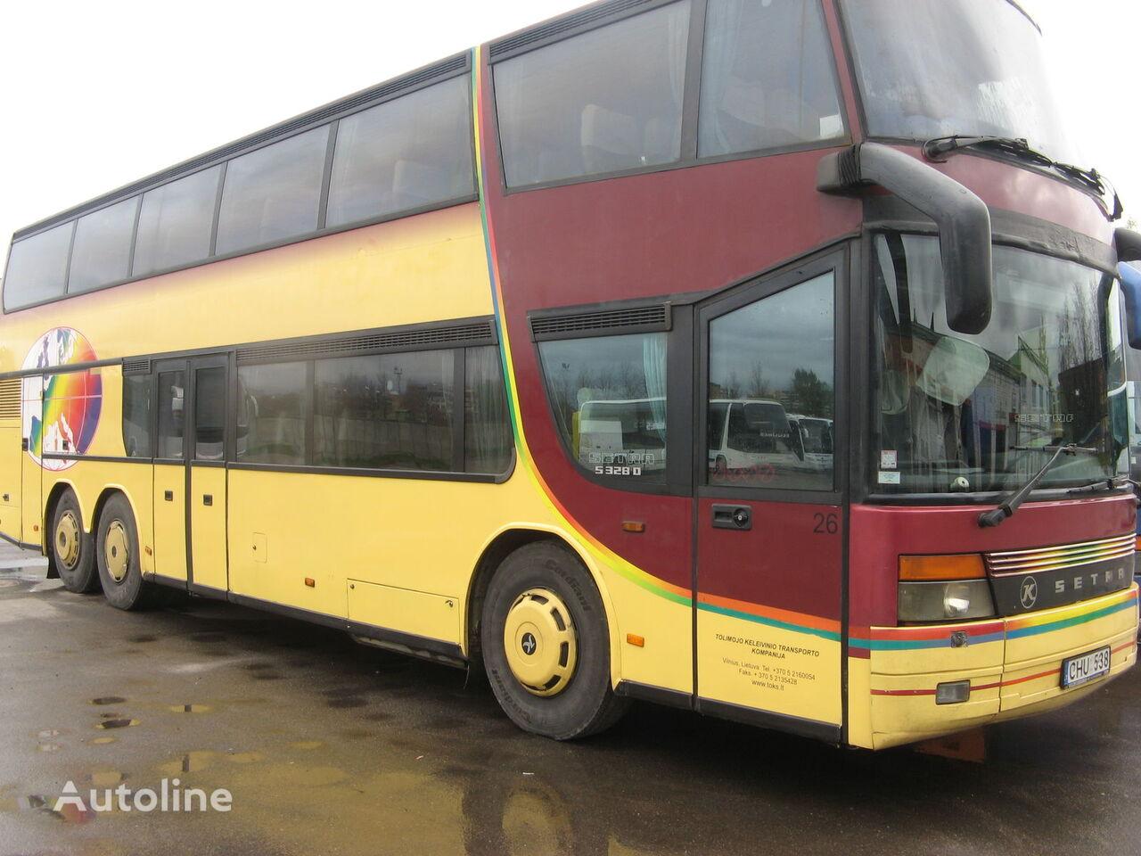 dviaukštis autobusas SETRA S 328 DT