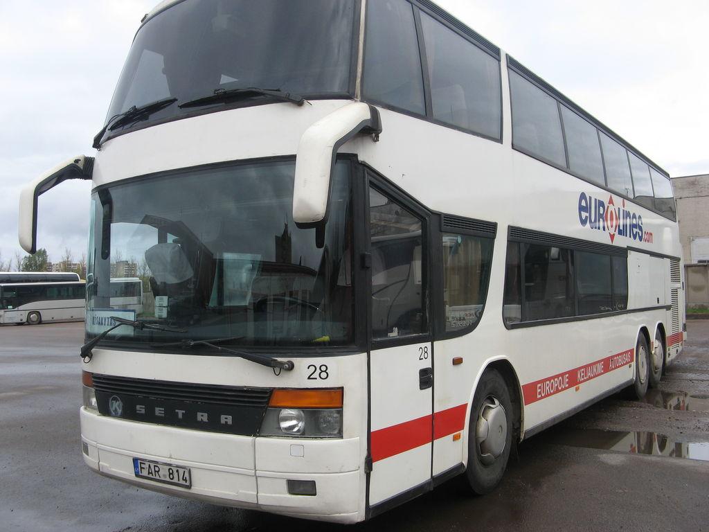 dviaukštis autobusas SETRA S328