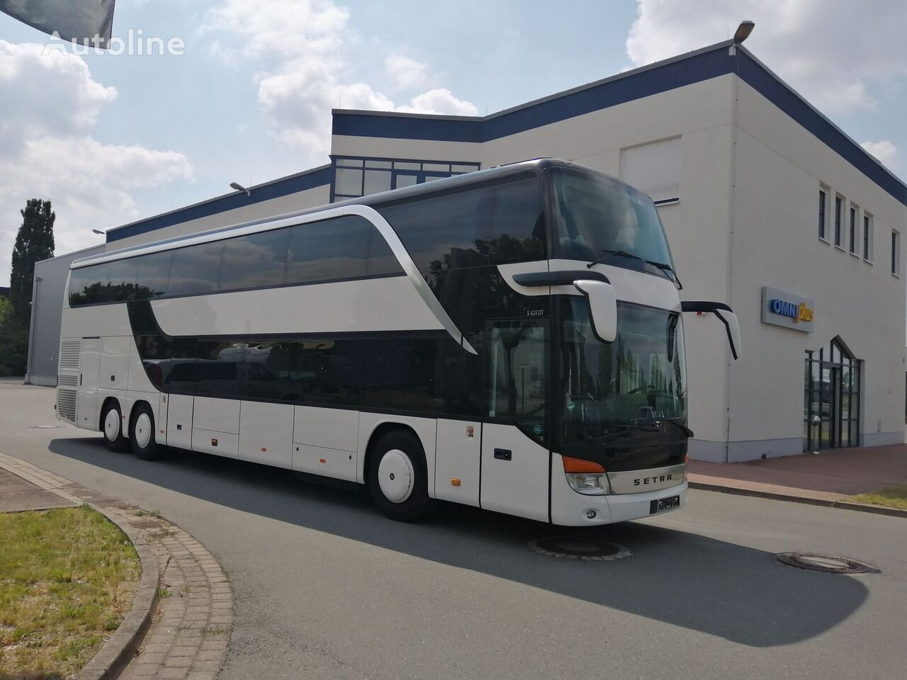 dviaukštis autobusas SETRA TopClass S 431 DT