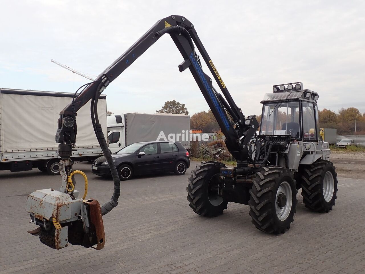 harvesteris VIMEK 404 T5 / 2,7k mth / CAT Engine / Crane 4,6m / ac / 1 owner
