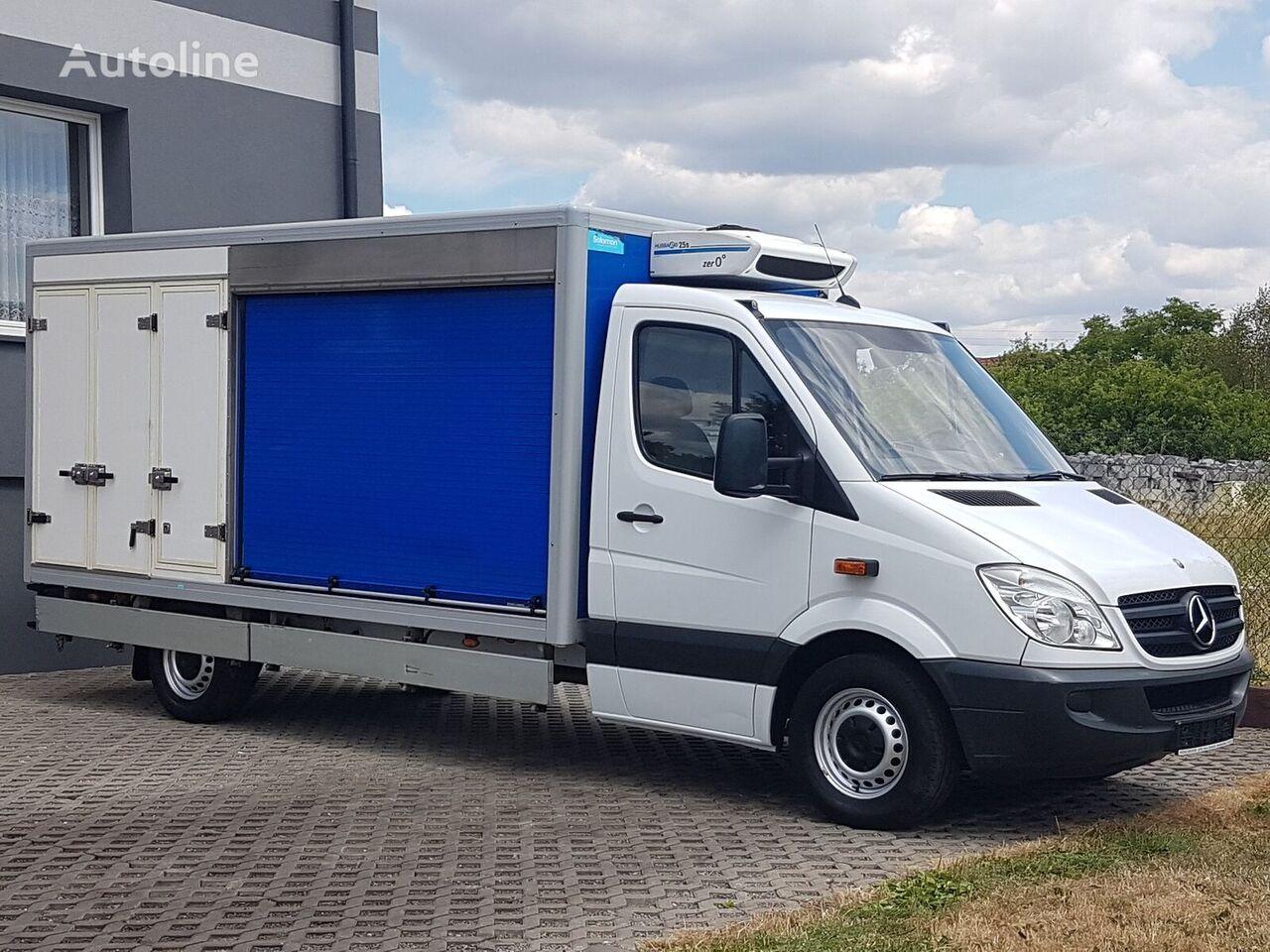 sunkvežimis šaldytuvas < 3.5t MERCEDES-BENZ SPRINTER 3 KOMORY CHŁODNIA MROŹNIA IZOTERMA 313 CDI AGREGAT