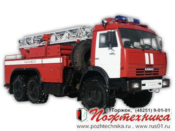 naujas gaisrinės autokopėčios KAMAZ ACL-3-40/17