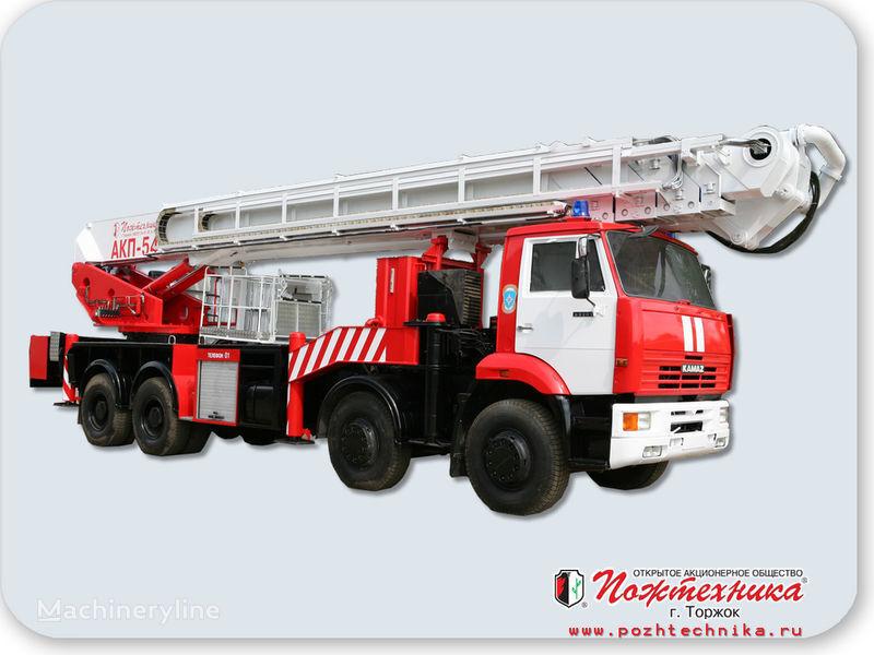 naujas gaisrinės autokopėčios KAMAZ AKP-54