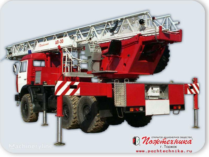 naujas gaisrinės autokopėčios KAMAZ AL-30