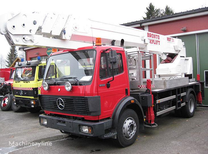 gaisrinės autokopėčios MERCEDES-BENZ 1722 4X2WD