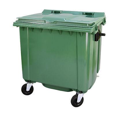 naujas šiukšlių konteineris