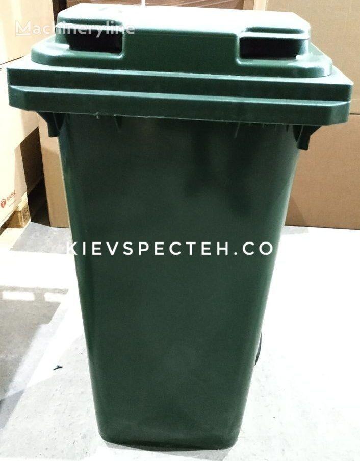 naujas šiukšlių konteineris EN 840-240 l