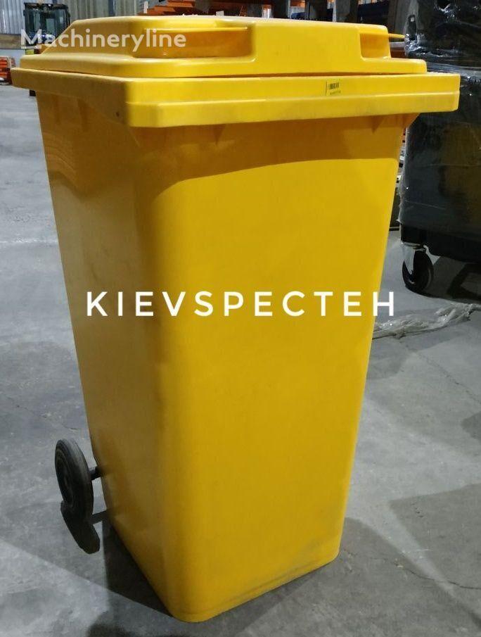 naujas šiukšlių konteineris iplast EN 840, 120 l