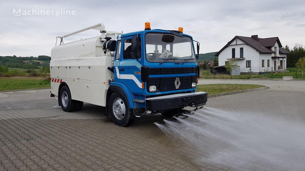šlavimo mašina RENAULT S150 WATER STREET CLEANER SPRAYER TANK 9000l. INOX