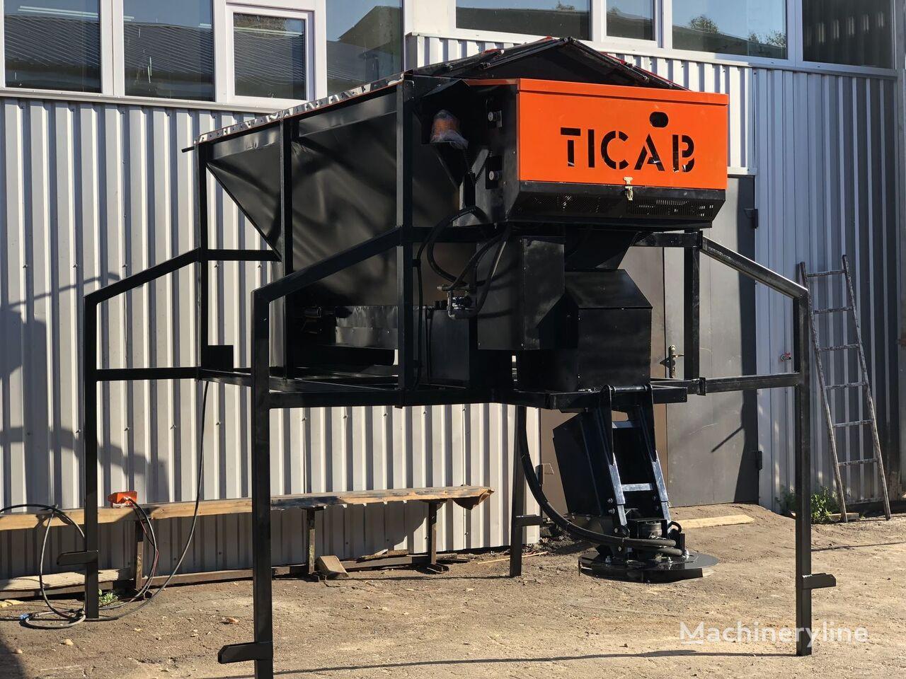 naujas smėlio barstytuvas TICAB RPS-1500
