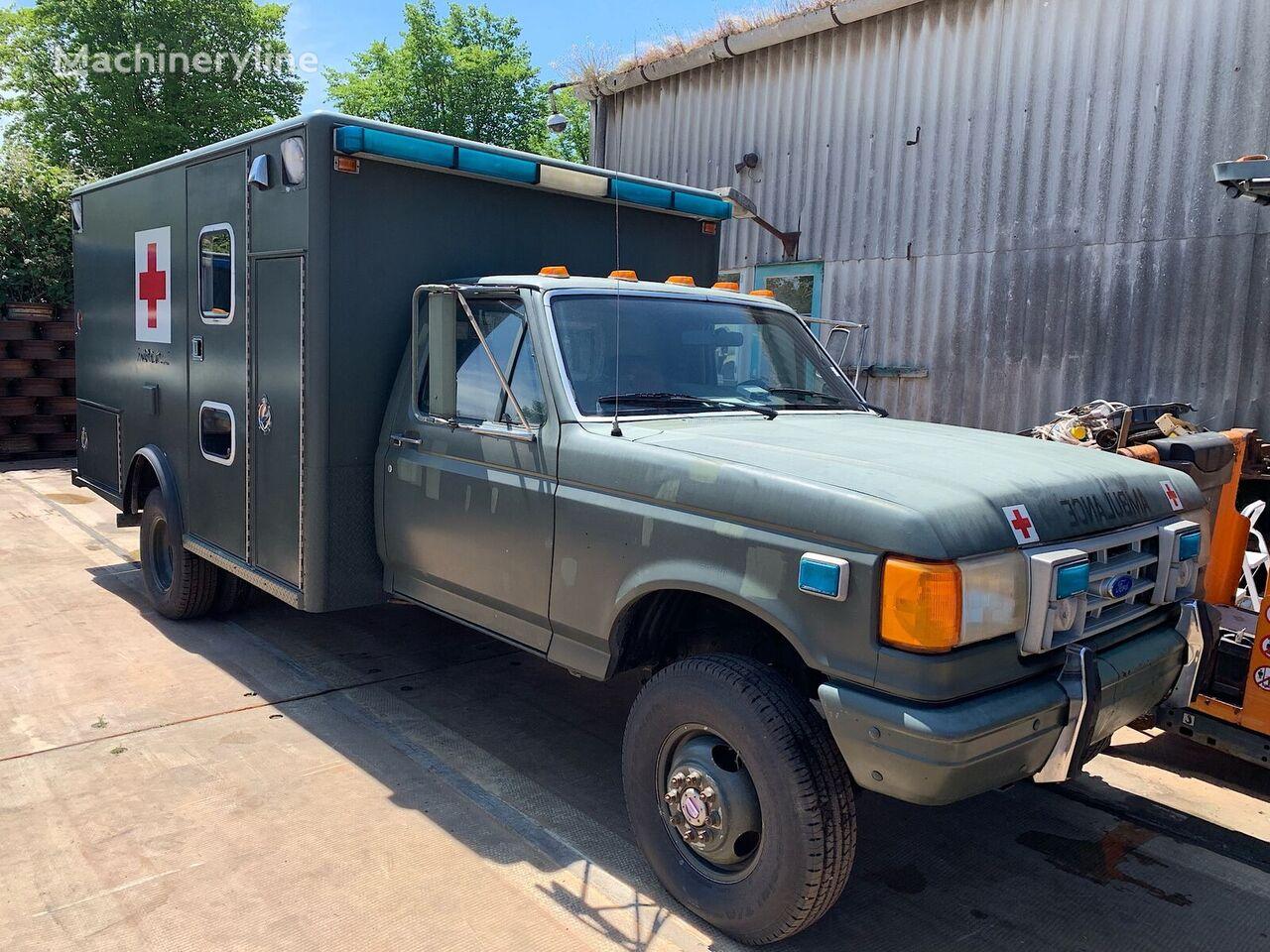 greitosios pagalbos automobilis FORD F 350 Ambulance