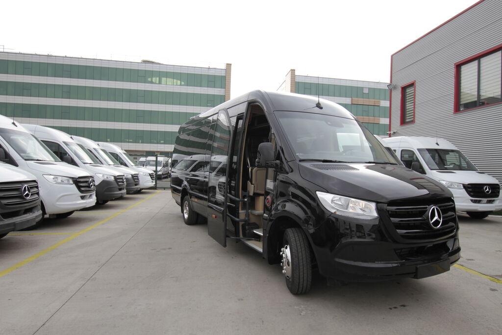naujas keleivinis mikroautobusas MERCEDES-BENZ 519 19+1+1, vip *COC*
