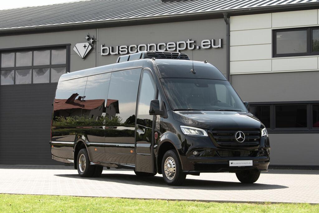 naujas keleivinis mikroautobusas MERCEDES-BENZ Sprinter 519, XXL Premium 2019 Design