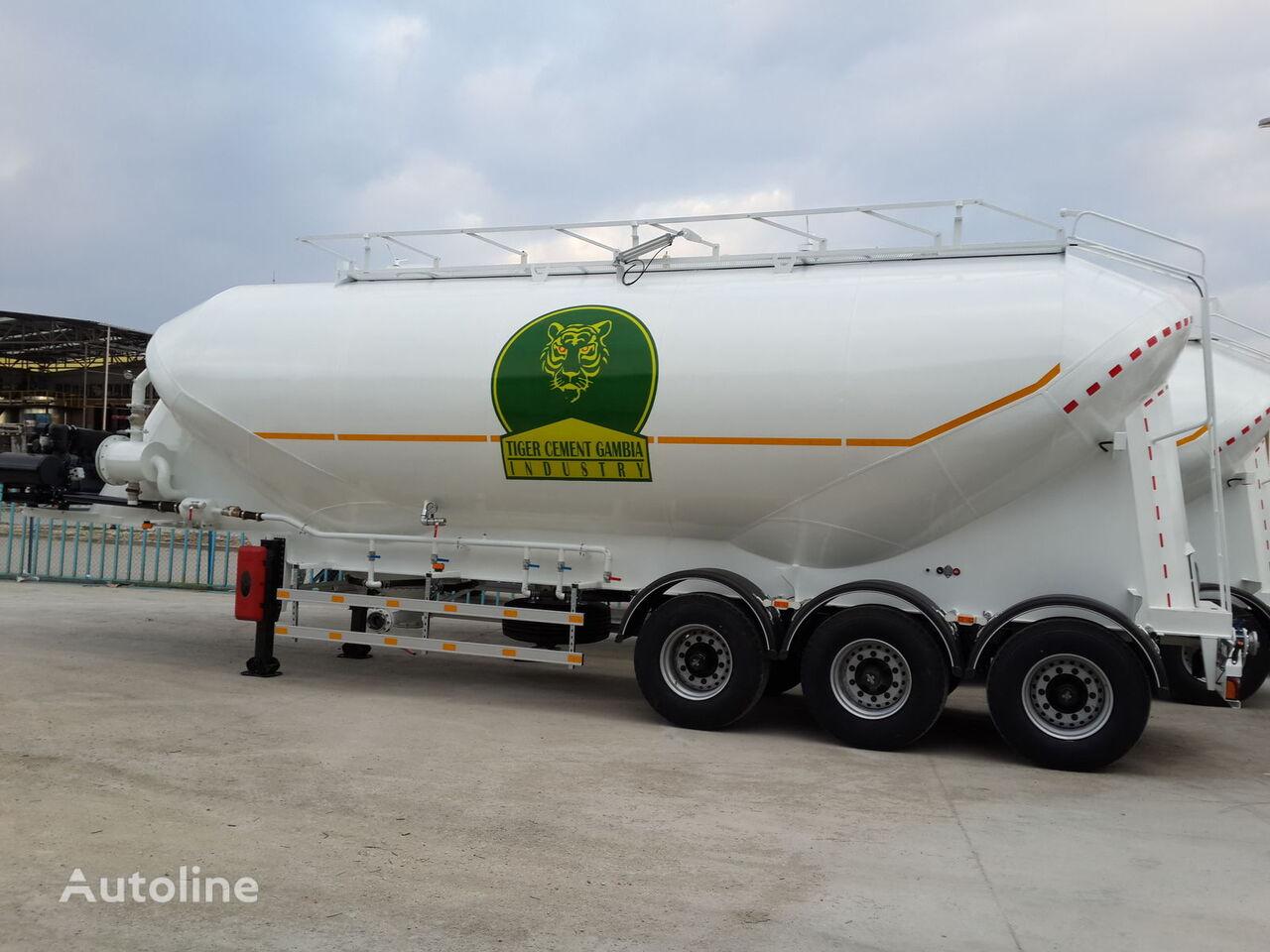 naujas miltams transportuoti cisterna GURLESENYIL cementovoz