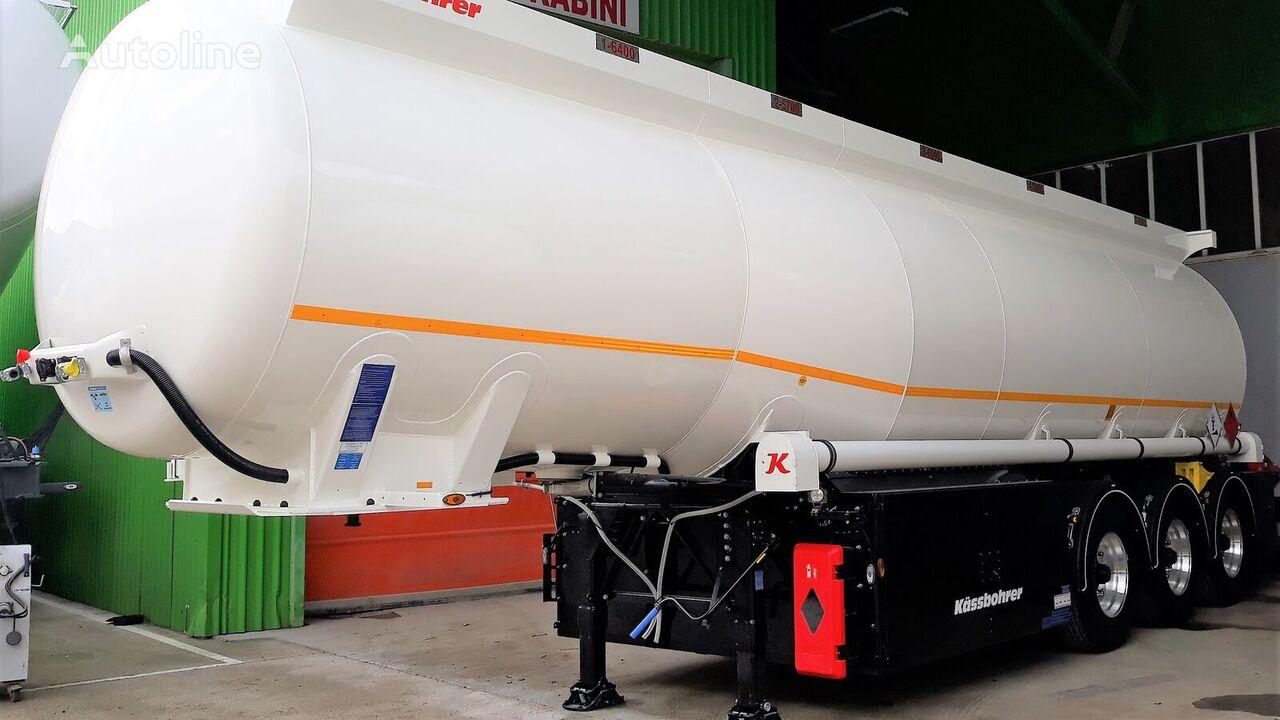 naujas naftos produktų cisterna KASSBOHRER STB E