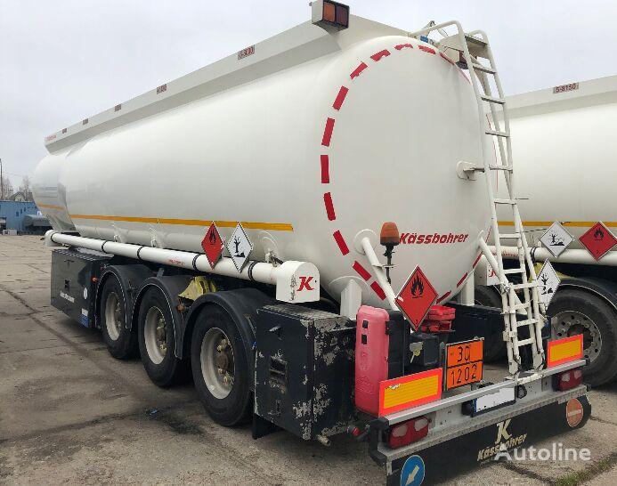 naftos produktų cisterna KASSBOHRER TANKAUFLIEGER LGBF MIT PUMPE UND ZAHLER