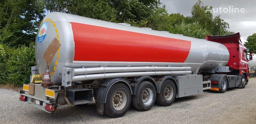 naftos produktų cisterna KASSBOHRER Tank 40000 Liter Petrol/Fuel ADR