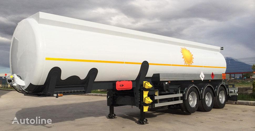 naujas naftos produktų cisterna NURSAN alyuminievaya 32 m3