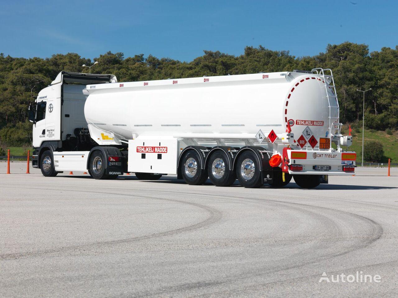 naujas naftos produktų cisterna OKT TRAILER 38 m3 CONICAL TANKER