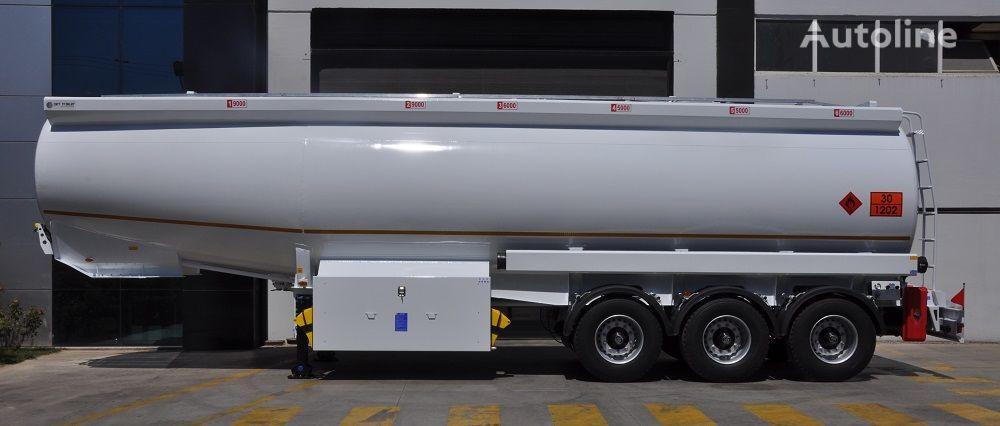 naujas naftos produktų cisterna OKT TRAILER 42000 Lt Mild Steel Tanker Semi Trailer