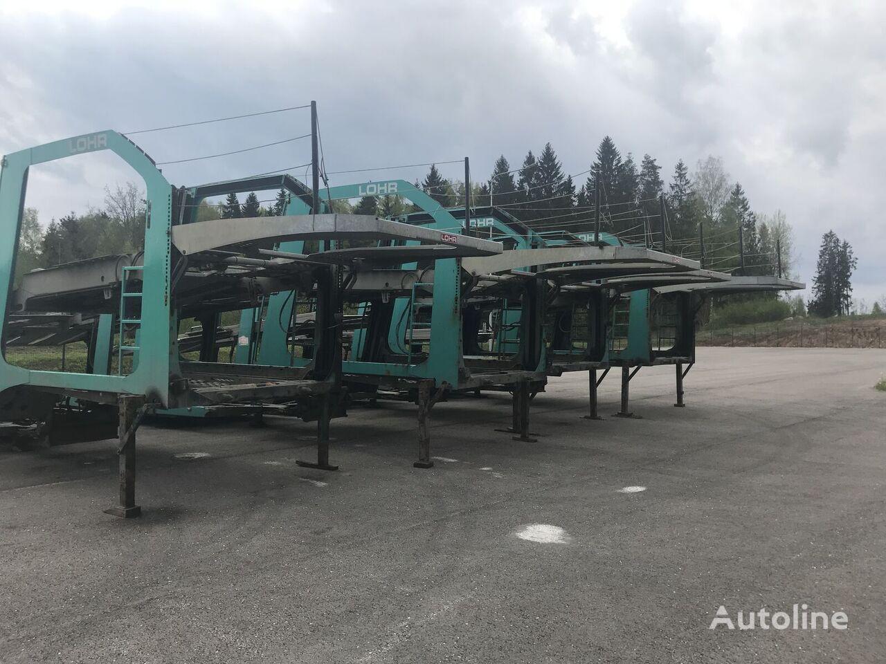 autovežio puspriekabė LOHR Eurolohr 1.21 EUROLOHR 1.21 FULL GALVANIZED