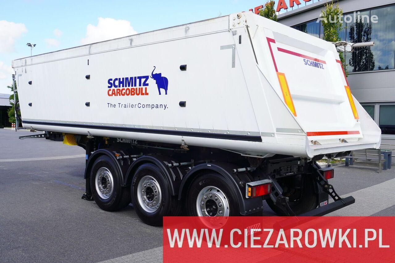 savivartė puspriekabė SCHMITZ CARGOBULL Gotha SGF-S3 , 29m3 , lift axle , 2019, LIKE NEW