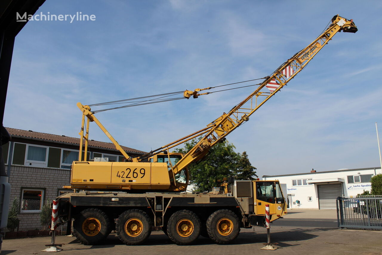 autokranas DEMAG Mannesmann Dematic K4209 Dragline mobile crawler crane Seilbagge