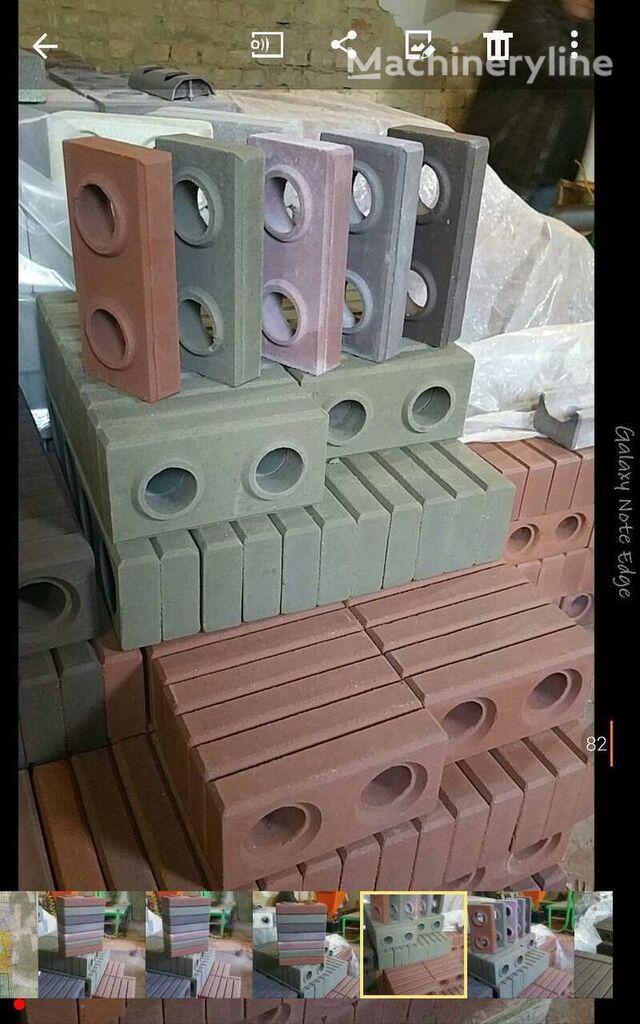 nauja betoninių blokų gamybos įranga Lego Bricks