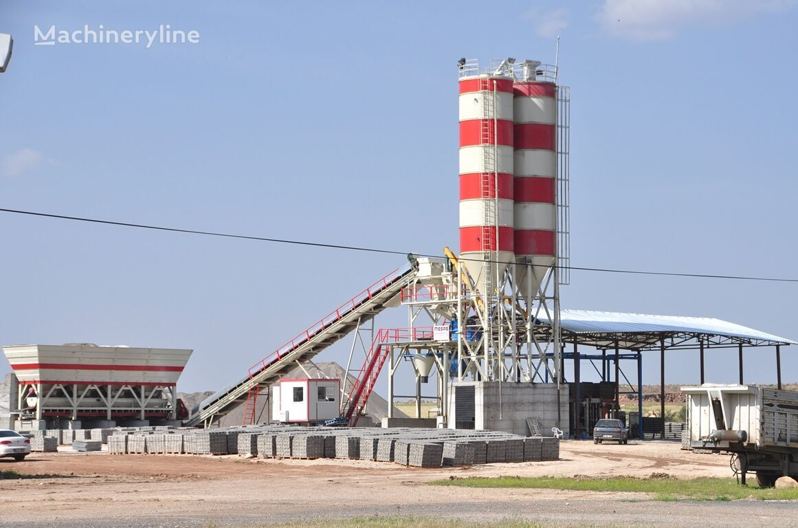 naujas betono gamykla MESAS MES-35