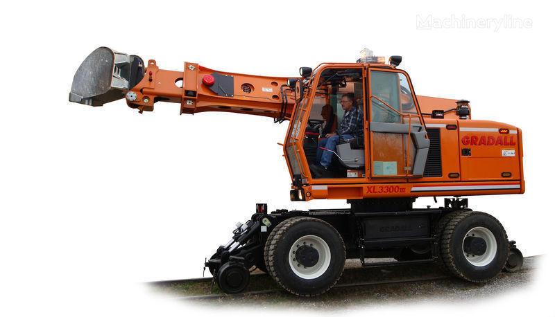 naujas bėginis ekskavatorius GRADALL XL 3300