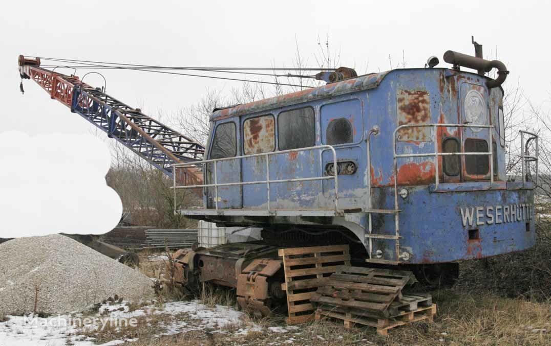 dragline WESERHÜTTE W12