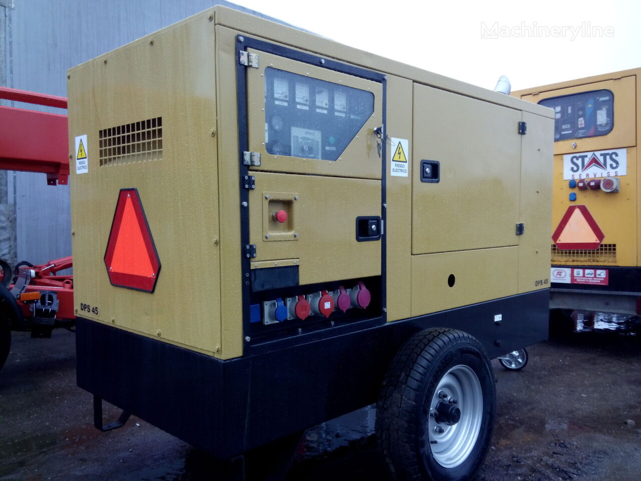 generatorius GESAN DP 45
