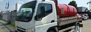 autocisterna sunkvežimis MITSUBISHI CANTER 7C15
