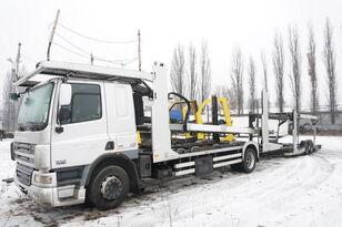 autovežis sunkvežimis DAF CF 75 360 , E5 , 4x2 ,MEGA , LOHR , retarder , sleep cab + autovežis priekaba