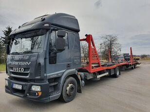 autovežis sunkvežimis IVECO Eurocargo 140E28 + autovežis priekaba