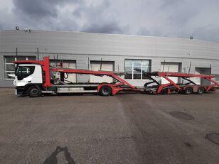 autovežis sunkvežimis IVECO Stralis + autovežis priekaba