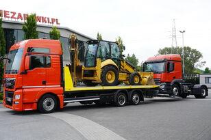 autovežis sunkvežimis MAN TGX 26.440 XXL , E6 , 6X2 , NEW BODY 7,5m , hydraulic , 2x winch