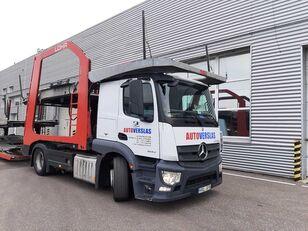 autovežis sunkvežimis MERCEDES-BENZ ACTROS + autovežis priekaba