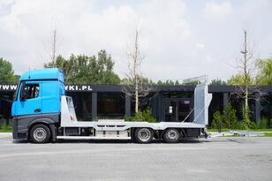 autovežis sunkvežimis MERCEDES-BENZ Actros 2542 , E6 , MEGA , NEW BODY , car tow 10T , hydraulic ram