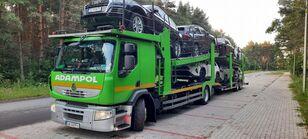 autovežis sunkvežimis RENAULT Premium 410 + autovežis priekaba