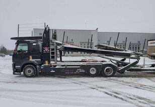 autovežis sunkvežimis VOLVO FM450 + autovežis priekaba