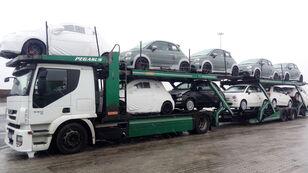 autovežis sunkvežimis IVECO STRALIS 450 + autovežis priekaba