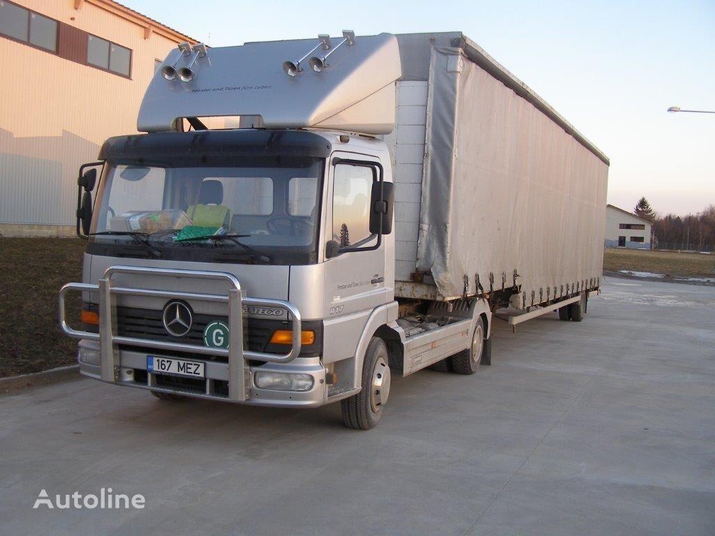autovežis sunkvežimis MERCEDES-BENZ Atego 817