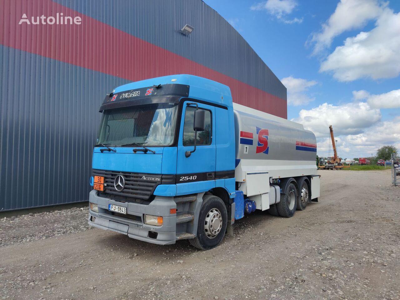 benzovežis sunkvežimis MERCEDES-BENZ 2540