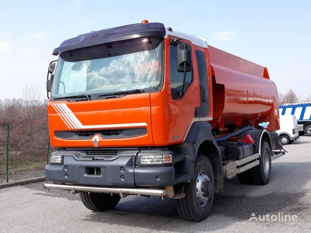 benzovežis sunkvežimis RENAULT 370dci 4X4