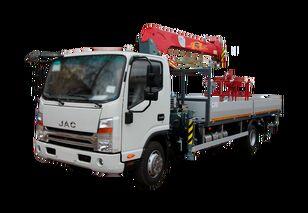 naujas bortinis sunkvežimis JAC Бортовой автомобиль с КМУ FG-414