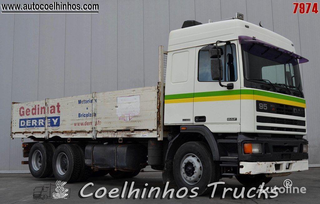 bortinis sunkvežimis DAF 95 ATi 360
