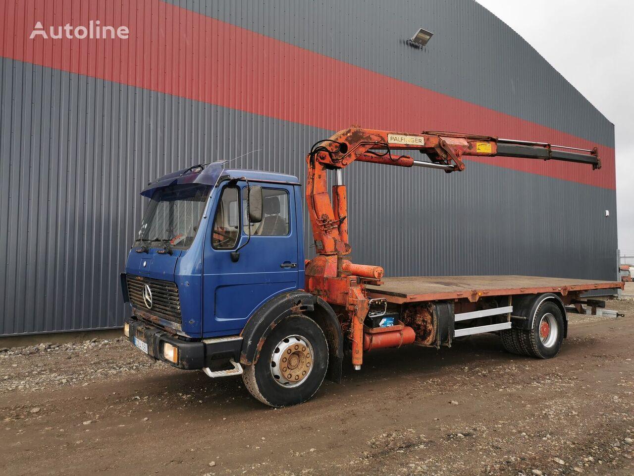 bortinis sunkvežimis MERCEDES-BENZ 1624 V8 motor, FULL SPRING