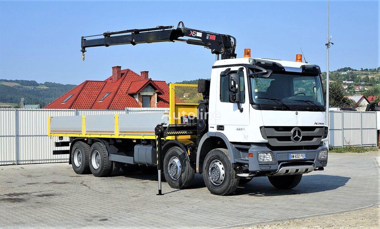 bortinis sunkvežimis MERCEDES-BENZ ACTROS 3236