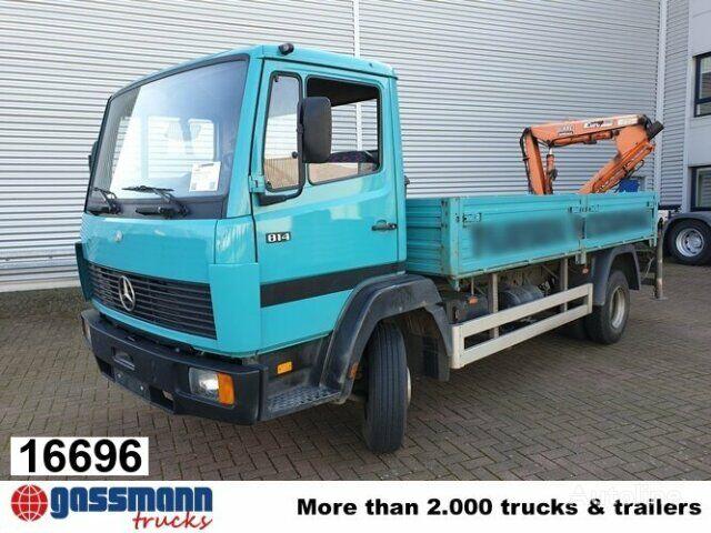 bortinis sunkvežimis MERCEDES-BENZ LK 814 4x2